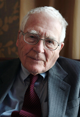 British environmental guru James Lovelock, seen on 17 March 2009 in Paris, admits he was 'alarmist' about climate change in the past. Jacques Demarthon / AFP / Getty Images