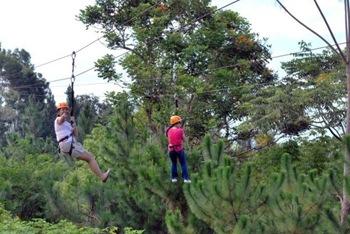Zip Line Eden's Park, Davao City