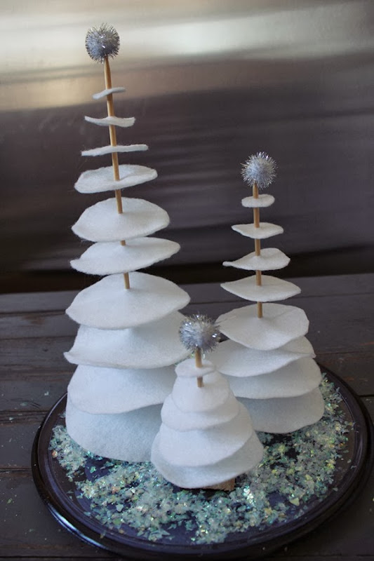 DIY Felt Christmas Tree - Craft Tutorial