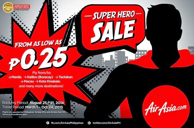 Air Asia Super Hero Sale