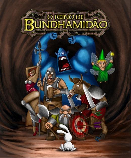 O Reino de Bundhamidão -capa