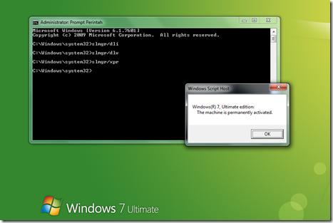 windows 7 ultimate licenced