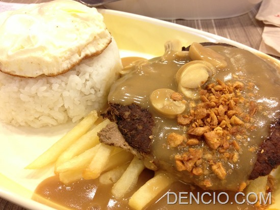 Jollibee Ultimate Burger Steak Meal