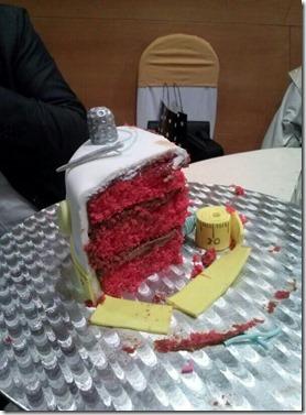 corte tarta costura
