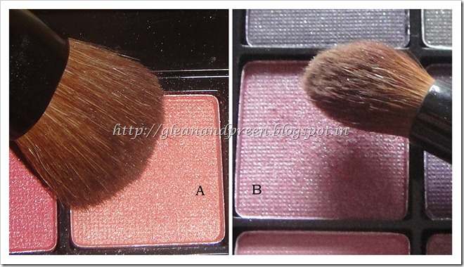 Pink Peach Eye Shadows