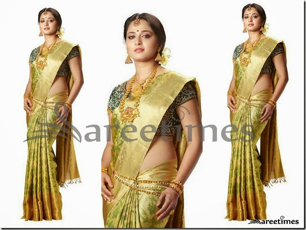 Anushka_Green_Gold_Bridal_Silk_Saree