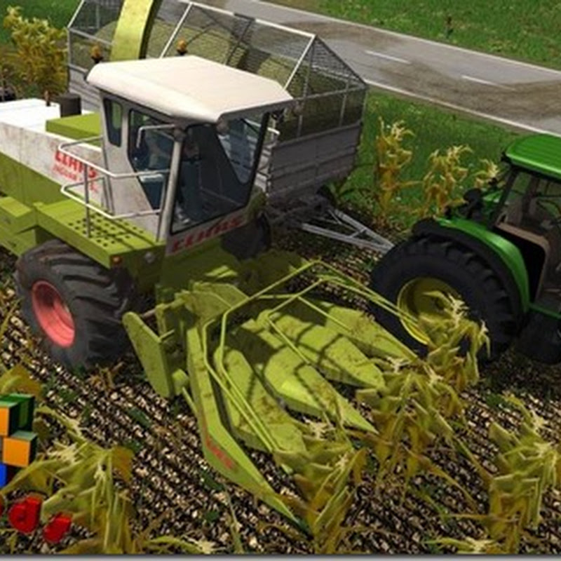 Farming simulator 2013 - Claas Jaguar 685 SL and Klado SKA 94 Mod