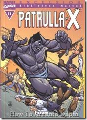 P00011 - Biblioteca Marvel - Patrulla-X #11