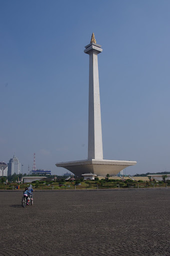 Jakarta's Monas National Monument.