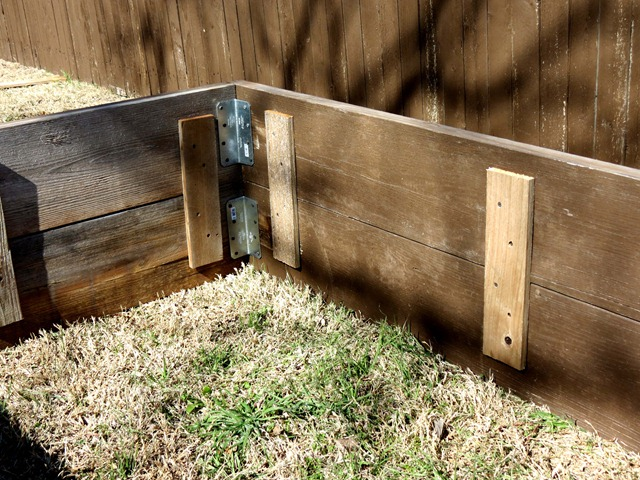 building raised garden box style with cents1a