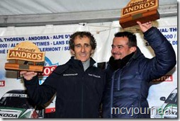 Dacia Lodgy Champion Trophee Andros 2012