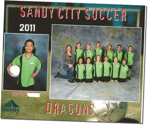 Green dragons Sophie