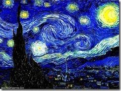Van Gogh - A noite estrelada