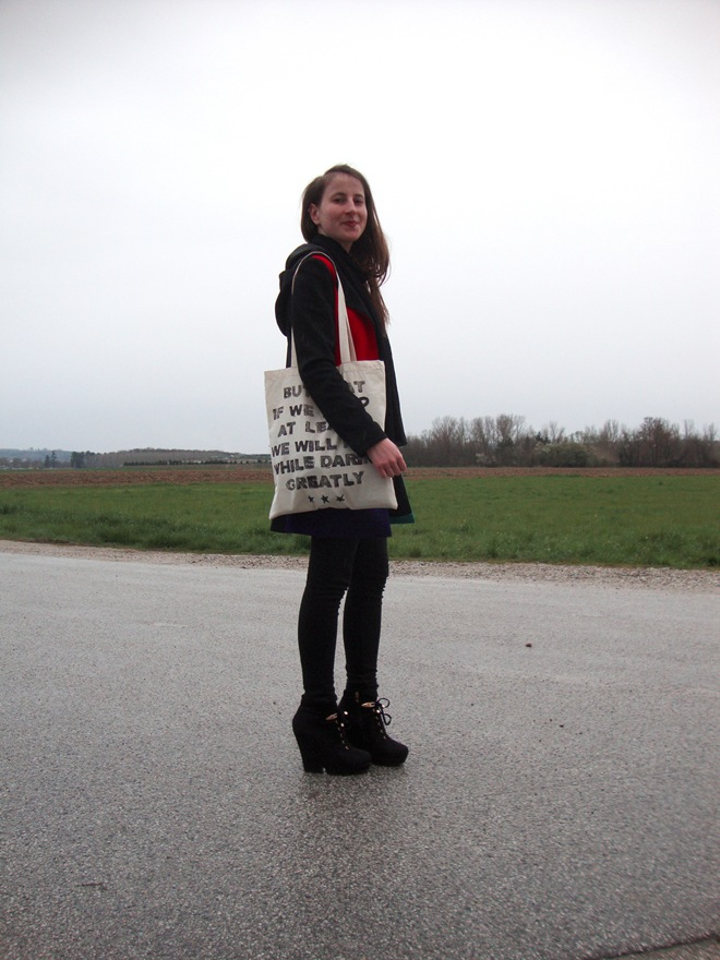 daring greatly tote bag