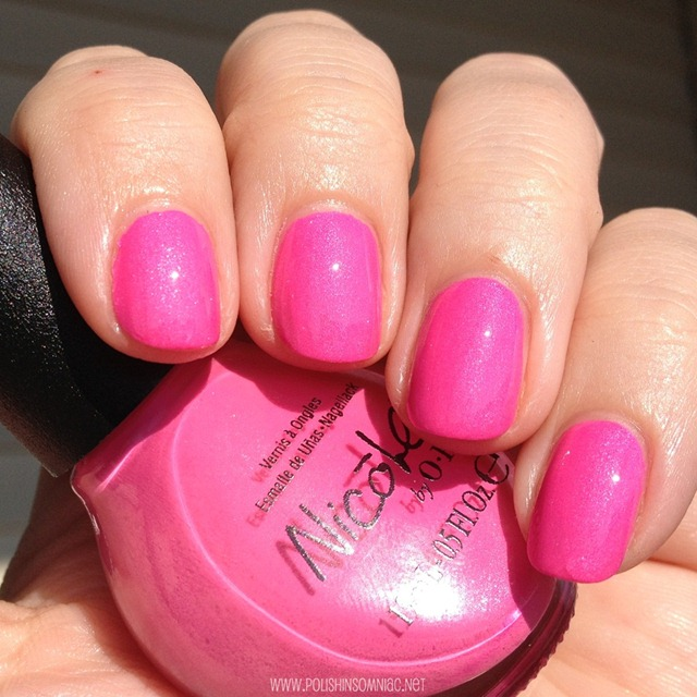 Nicole by OPI Still Into Pink 5