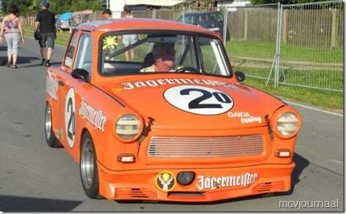 Dacia als safety car Classic Grandprix Schleiz  04