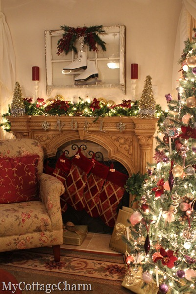 how to decorate a mantle