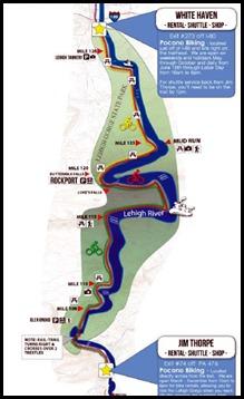 00- Lehigh Gorge State Park Bike Trail