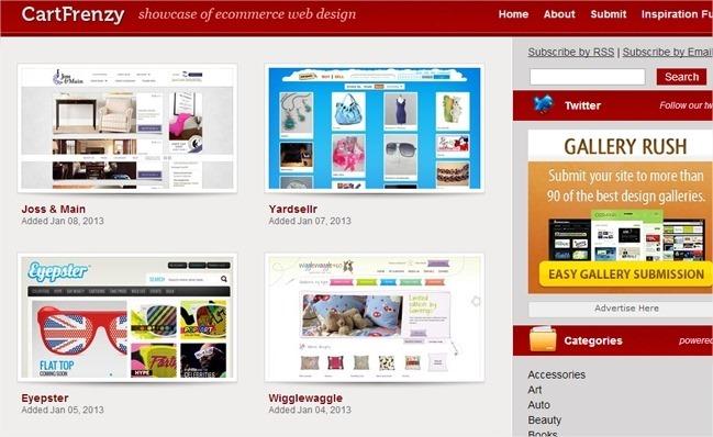 13 galerías web sobre CSS para encontrar inspiración 3