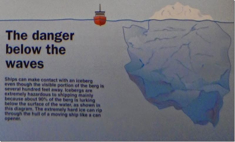 iceberg danger