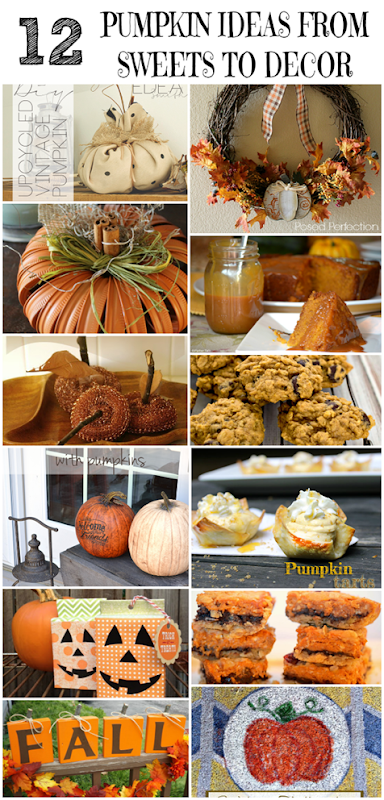 12 Pumpkin Ideas from Sweets to Decor