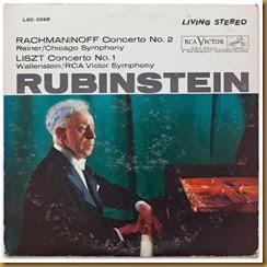 Rachmaninov Concierto piano 2 Rubinstein Reiner