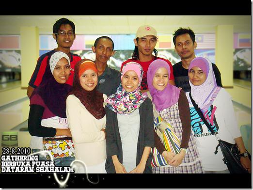 Gathering Berbuka Puasa@Shah Alam
