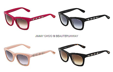 JIMMY CHOO STAR STUDS SPRING SUMMER 2013 EYEWEAR DESIGNER SUNGLASSES Luxury OPTICAL FRAME COLLECTION Shoes, sandals, boots, slippers, Bags Accessories, wallets, belts,Fall Winter 2014