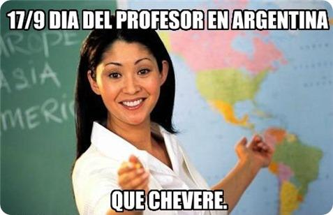 profesor argentina