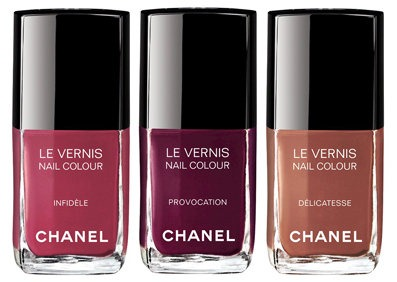 Les Twin Set, Chanel maquillage, Chanel Makeup, Chanel Le Verins, Chanel Allure Velvet, Le Vernis Infidéle, Le Vernis Provocation, Le Vernis Dèlicatesse