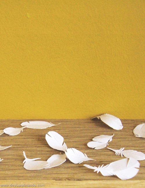 obras de arte em papel 3D origami Peter Callesen desbaratinando (18)