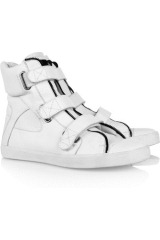 Karl Ulla leather high-top sneakers
