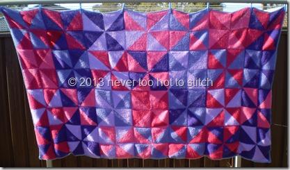 2011 Pinwheel Blanket