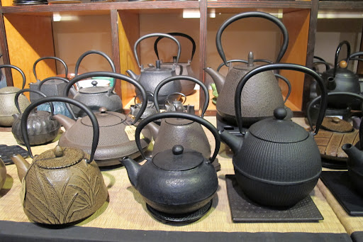 The asian teapot section is not to be missed.