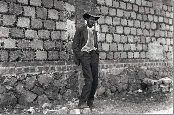Fortino Sámano antes de su fusilamiento, 1917. Agencia Casasola (Archivo Casasola - Fototeca Nacional del INAH)