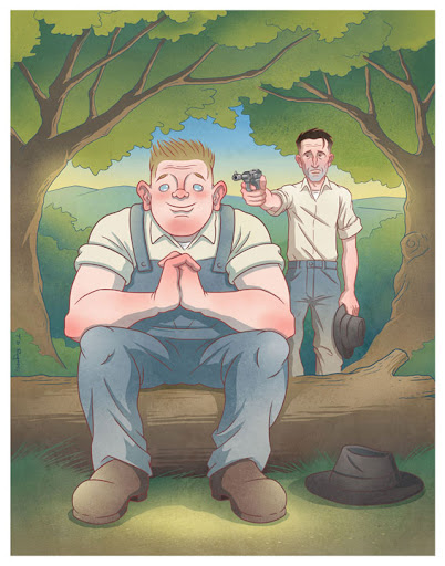 the american dream of george lennie and candy in john steinbecks novel of mice and men George and candy ignore her, but lennie is fascinated  the american dream:  this dream involves a longing for several of the following:  george & lennie:  the most important characters in the novel are george milton.