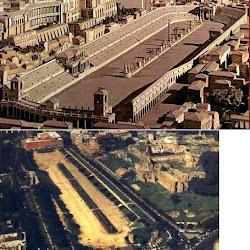 74 - Circo Maximo de Roma - Maqueta y estado actual