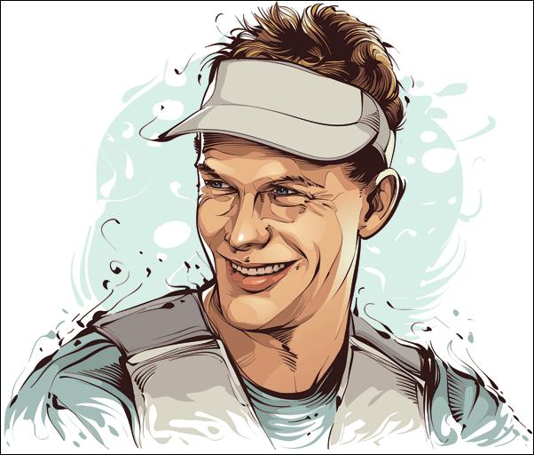 Robert Scheidt - Champion Olympique de Yachting