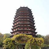 970年に建てられた六和塔(りくわとう)。 Photo by (c)Tomo.Yun