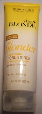 John Frieda Go Blonder Conditioner