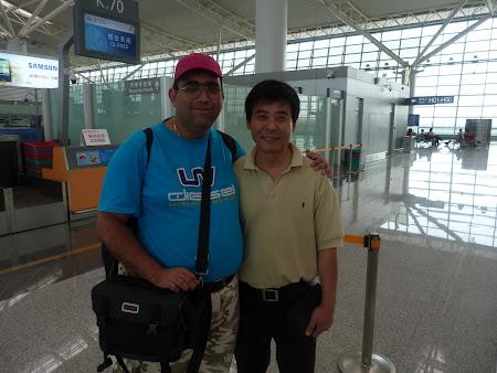 La aeroport cu ghidul din Xian
