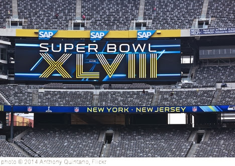 'Super Bowl XLVIII Preparations at MetLife Stadium January 31, 2014' photo (c) 2014, Anthony Quintano - license: http://creativecommons.org/licenses/by/2.0/