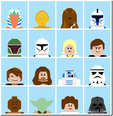 LEGO Star Wars paper pieced patterns
