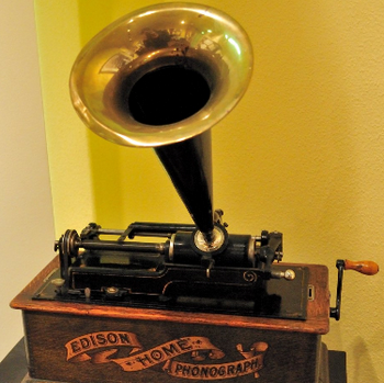 wax phonograph