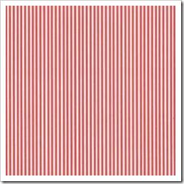 Linha Basic - Listrada Dupla (Vermelho)