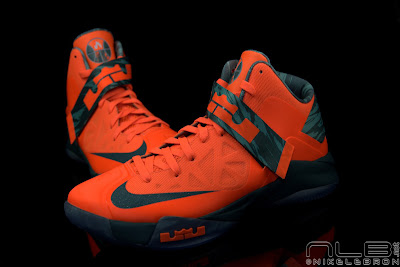 lebrons soldier6 orange camo 48 web black The Showcase: Nike Zoom Soldier VI Orange & Hasta Camo