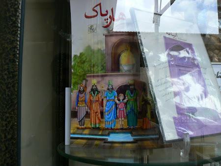 Abyaneh: Zoroastrian gods