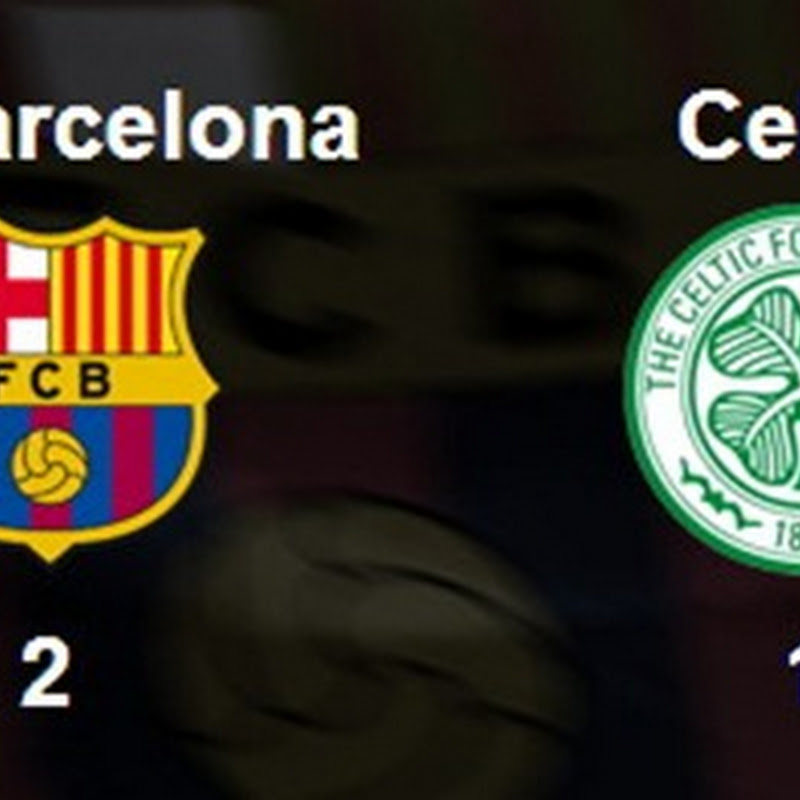 Barça 2–1 Celtic. Floristería más al sur de la espalda