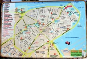 Map Lefkada