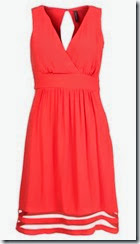 Naf Naf Red Summer Dress
